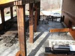 alternate view of outdoor living area-Ocoee River cabin rentals
