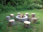 Campfire Pit - Firewood not included- You can bring your own or we can deliver some