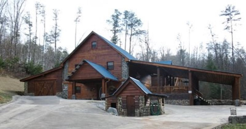 The Lodge At Hideaway Hollow Ocoee River Cabin Rental Minutes To
