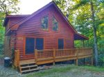 Whitetail Ridge exterior - Blue Ridge cabin rental