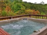 Hot Tub with a view-Ocoee River cabin rentals