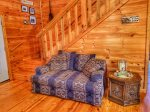 living room alt view-Ocoee River cabin rentals