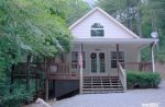 Coon`s Den Exterior-North Georgia Cabin Rental