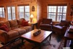 Coon`s Den lower level den-North Georgia Cabin Rental