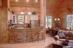 Coon`s Den Kitchen/Dining-North Georgia Cabin Rental