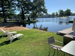 Two bedroom lower level condo overlooking Lake Delton