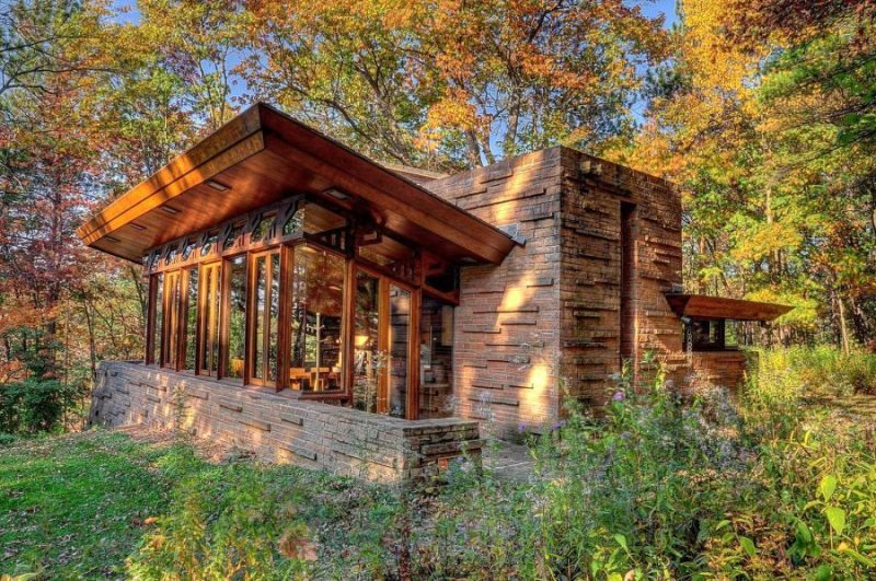 sand county frank lloyd wright seth peterson cottage wi rh sandcounty com romantic cottages in wisconsin cottages in wisconsin dells