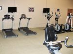 exercise room at club house