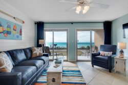 New Beachfront Listing -- Coveted Ground Floor Unit - Step out to the Beach!