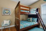 Big Bunk Room - third floor, pair of full-over-full bunk beds