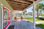 Enjoy a beautiful covered front porch.