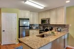 All new kitchen with Granite counters