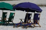 2 Beach chairs and umbrella included