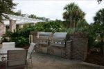 2 Large Gas Grills by the Pool