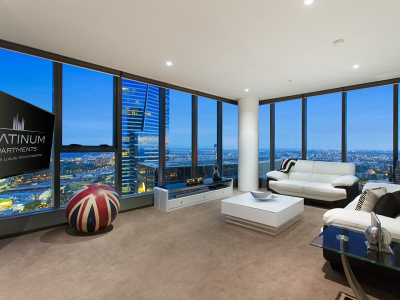 Apartment Self Contained Rental At Freshwater Place Melbourne Birds Eye Views Over From This 3 Bedroom In The Heart