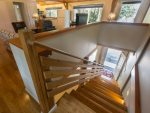Stairway leading to 2nd floor - great room, master bedroom, bathroom