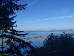 Overlooking the Straits of Juan de Fuca and Dungeness Spit