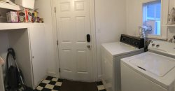 The mud room and laundry facilities