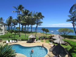 Escape to Paradise on the Beach with Ocean and Pool Views 235