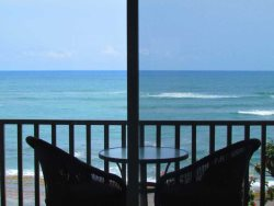 Unit 9 Lanai - Enjoy sitting at the beach on your lanai