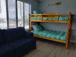 Bunk room and sleeper sofa