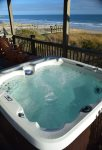 Oceanfront Hot Tub
