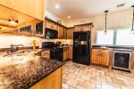 Casa Dana has an open design gourmet kitchen