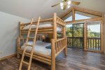 Bedroom with Bunk Bed T/Q