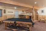 Pool Table & Bar area