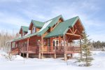 Altitude Adjustment, Beautiful cabin centrally located to the National Parks. 3  bedroom / 2 bath sleeps upto 14 people
