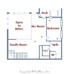 Upprt level Floor Plan