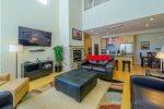 Magic Carpet -  2 bedroom / 2 bath plus game loft - walking distance to Giant Steps Lifts