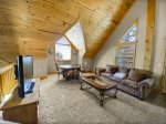 View Family Game Room/TV/Pool Table