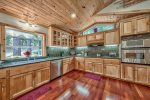 Magnificent Chef`s Kitchen...with room for a number of chefs