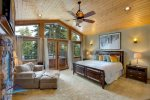 Master Bedroom upstairs off of Great Room