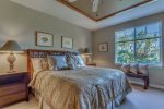 Master Bedroom with CalKing Bed
