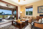 Lanai with plenty of seating