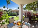 Lanai Dining - Steps away from the Pool, Hot Tub, Fitness Rooms and BBQ`s