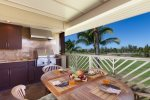 Lanai with gas BBQ grill