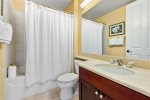 Spacious lanai steps from the BBQ area, pool and fitness center