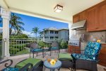 Lanai with outdoor BBQ Grill