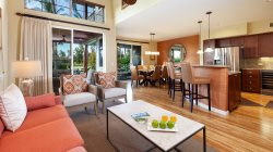 Waikoloa Beach Villas N1.  Stunning remodeled 3 bedroom townhome.