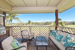 Waikoloa Beach Villas I33. Hilton Waikoloa Pool Pass for 2021. Perfect for couples!  King Bed in Master Bedroom and  Guest Room.  Top Floor and Golf Course Views!