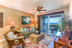 Halii Kai 14B.  Ocean Front Luxury! Includes Waikoloa Gold Golf Membership Benefits.  Steps away from the Ocean Pool Club