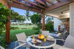Waikoloa Beach Villas H1.  BBQ Grill on the lanai.