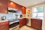Gold level remodel with granite counters, stainless appliances AND ocean views from kitchen sink