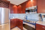 Luxurious kitchen remodel with custom cabinets makes cooking a breeze