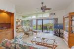 Enjoy a beautiful Maui sunrise, or moonrise, in this ocean view villa!