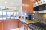 Villa features a fully stocked kitchen with everything you need to prepare any meal