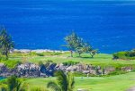 The famous Kapalua Bay Course can be seen from your lanai